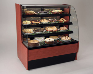 Harmony Narrow Width Dry Pastry Display Case