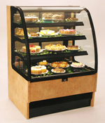 Harmony Narrow Width Refrigerated Pastry Display Case