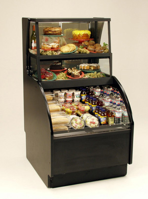 Oasis Mobile Combo Serve grab-n-go pastry case