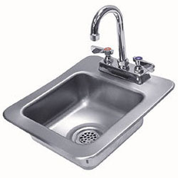 Stainless Steel Compact Handwashing Sink