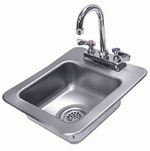 Commercial Sinks :: Drop in Ice bins :: Stainless Steel Sinks