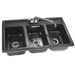 Three Compartment Sanitizing Sink